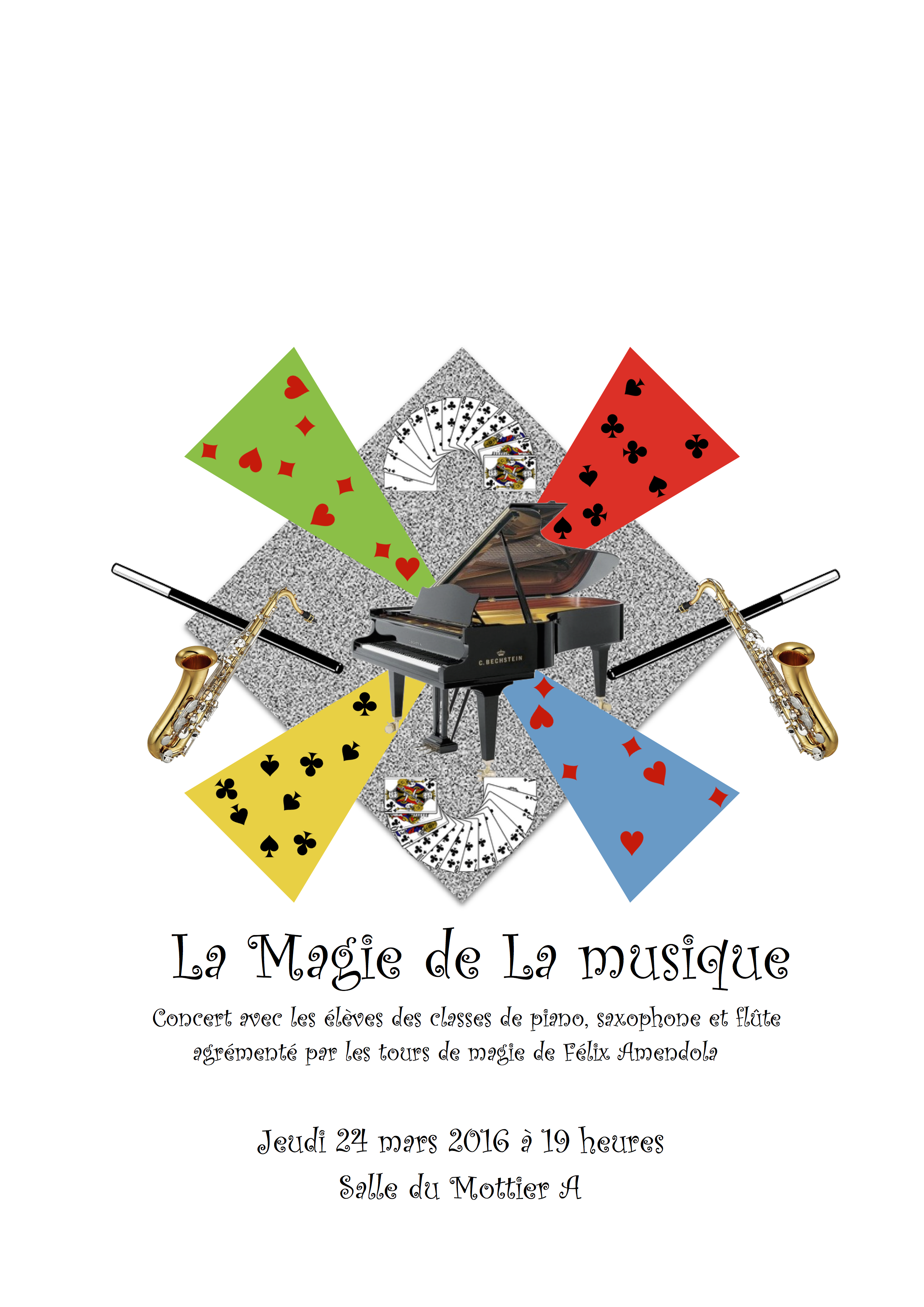 affiche audition Musique et Magie 24 Mars à 19h